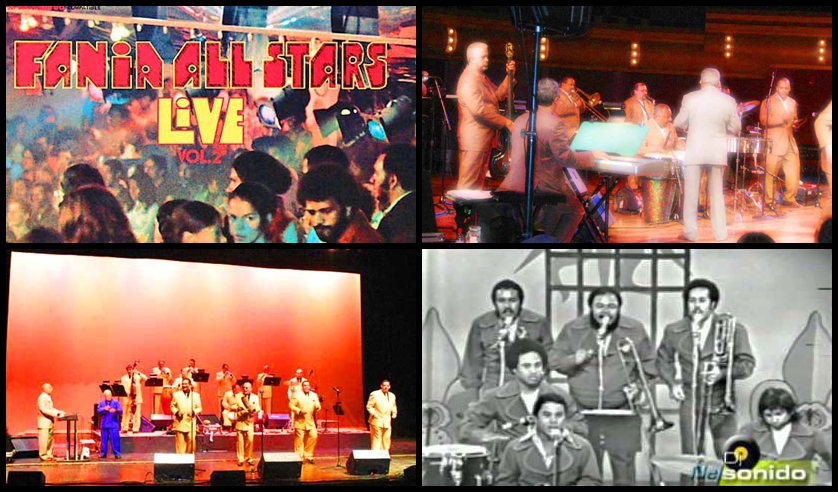 Salsa Live - Collage